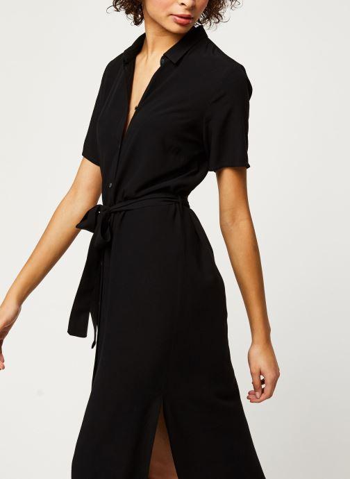 Vêtements Pieces Dresses Pccecilie Ss Long Dress Noos Bc Noir vue détail/paire