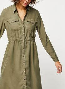 Dresses Pcnola Ls Midi Lyocell Shirt Dress-Bi Bc