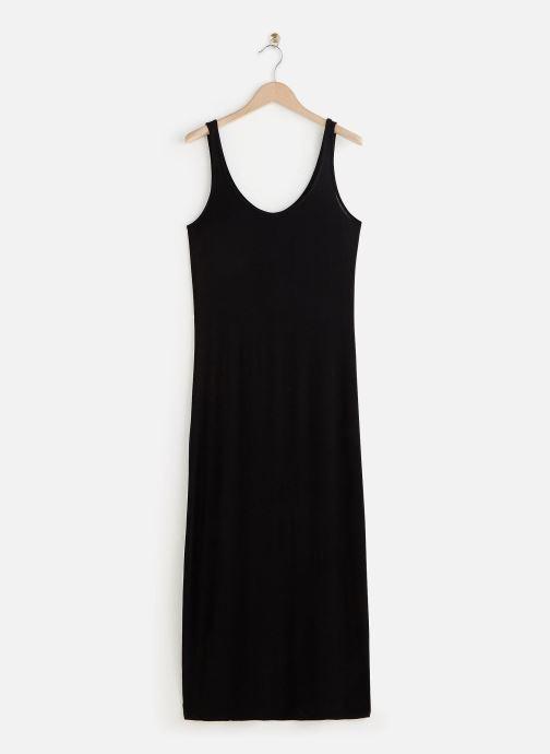 Vêtements Pieces Dresses Pckalli Maxi Tank Dress  Noos Noir vue détail/paire