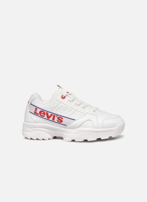 Sneakers Levi's Soho Lace Bianco immagine posteriore