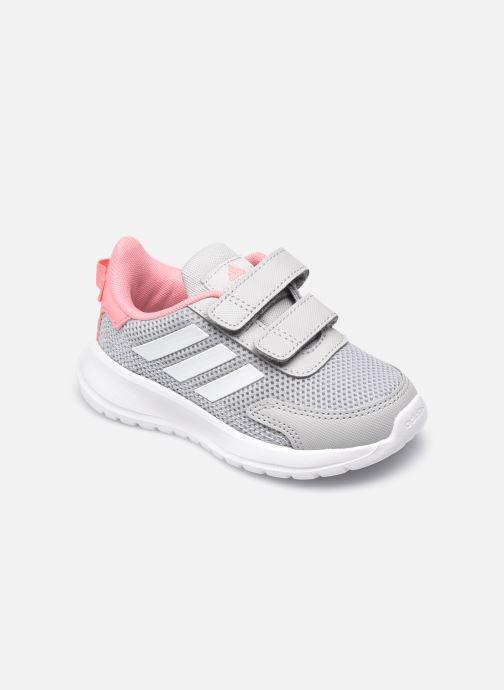 Chaussures de sport adidas performance Tensaur Run I Gris vue détail/paire
