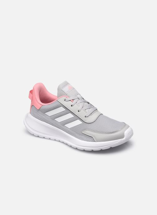 Chaussures de sport adidas performance Tensaur Run K Gris vue détail/paire