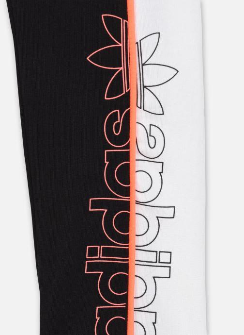 Vêtements adidas originals Leggings J Noir vue face