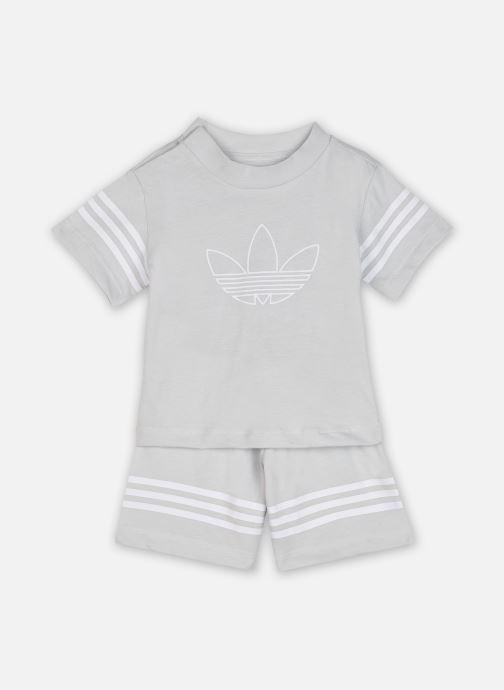 Vêtements adidas originals Outline Sts I Gris vue détail/paire