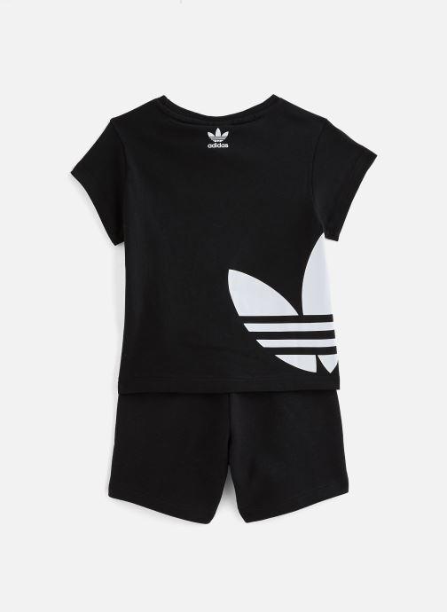Vêtements adidas originals Bg Trefoil Sts K Noir vue bas / vue portée sac