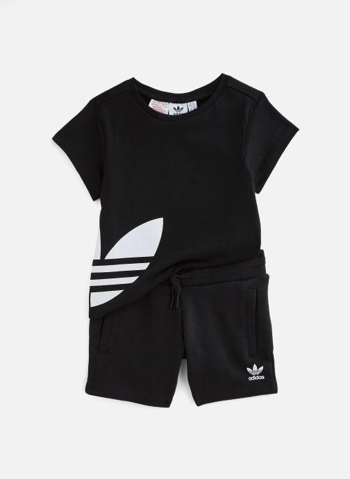 Vêtements adidas originals Bg Trefoil Sts K Noir vue détail/paire