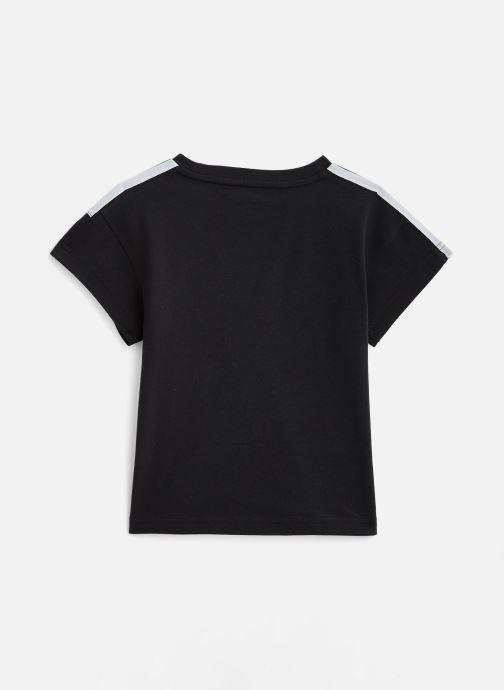 Vêtements adidas originals Icon Tee K Noir vue bas / vue portée sac