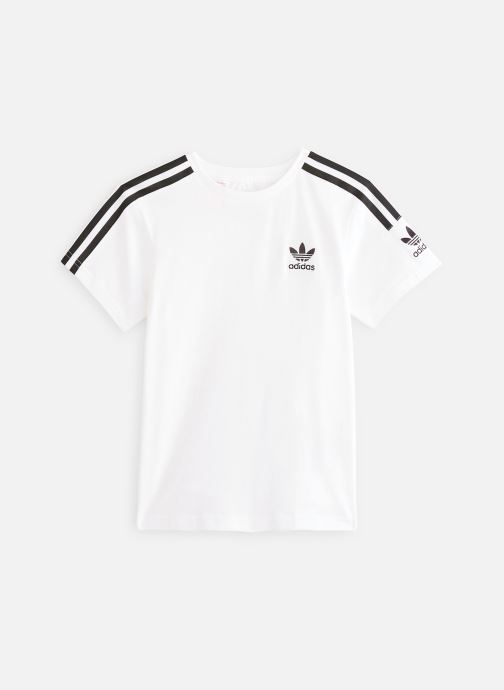 Vêtements adidas originals New Icon Tee J Blanc vue détail/paire