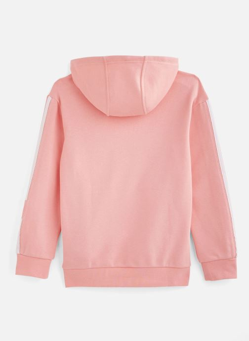 Vêtements adidas originals Lock Up Hoodie J Rose vue bas / vue portée sac