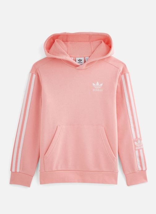 Vêtements adidas originals Lock Up Hoodie J Rose vue détail/paire