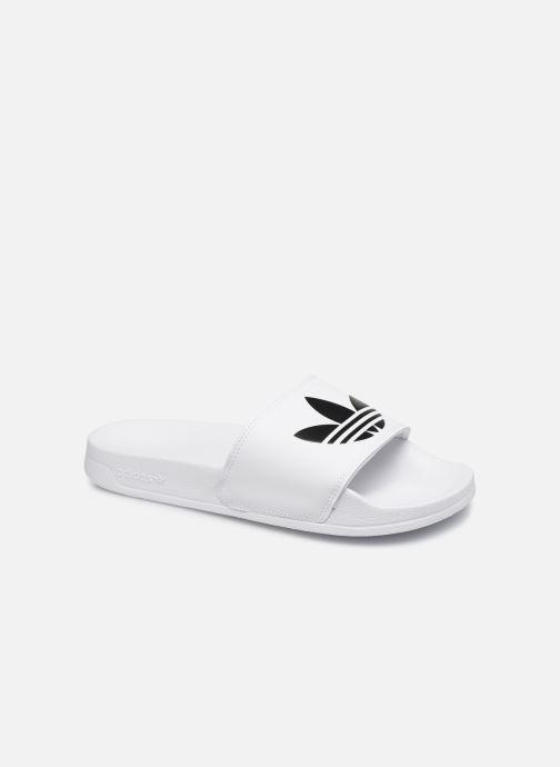 Sandales et nu-pieds adidas originals Adilette Lite Blanc vue détail/paire