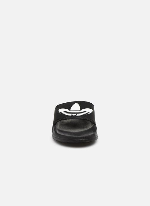 Sandales et nu-pieds adidas originals Adilette Lite Noir vue portées chaussures