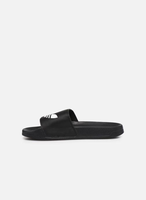 Sandales et nu-pieds adidas originals Adilette Lite Noir vue face