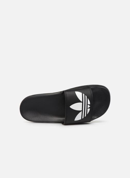 Sandalias adidas originals Adilette Lite Negro vista lateral izquierda
