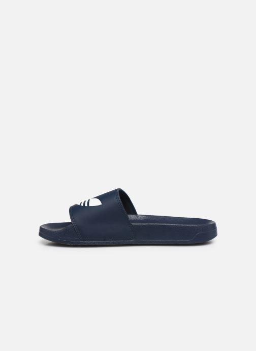 Sandalen adidas originals Adilette Lite schwarz ansicht von vorne