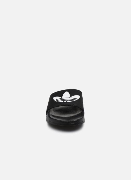 Mules et sabots adidas originals Adilette Lite W Noir vue portées chaussures