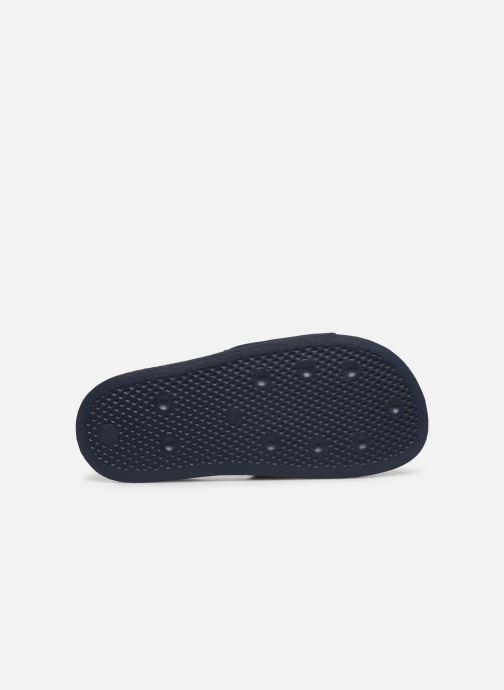 Zuecos adidas originals Adilette Lite W Negro vista de arriba