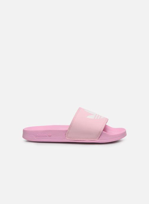 Zuecos adidas originals Adilette Lite W Rosa vistra trasera