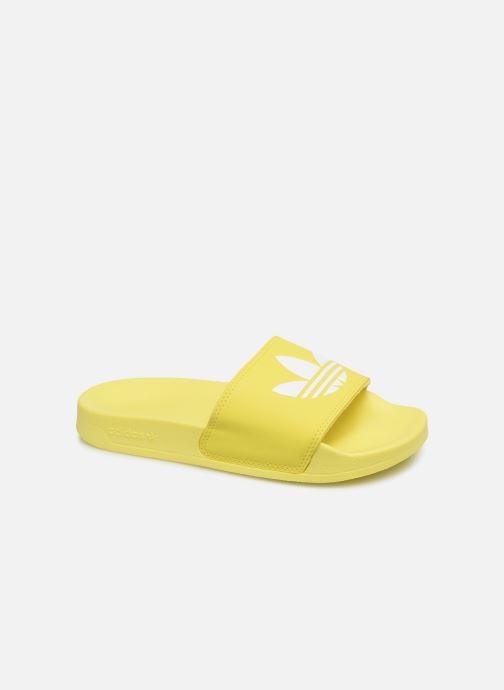 Zuecos adidas originals Adilette Lite W Amarillo vista de detalle / par