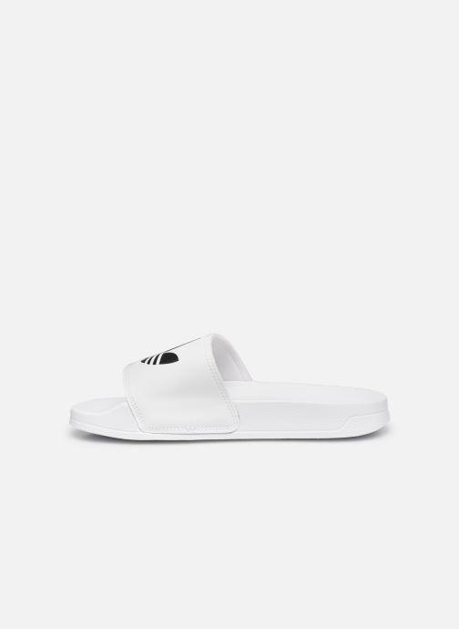 Wedges adidas originals Adilette Lite W Wit voorkant