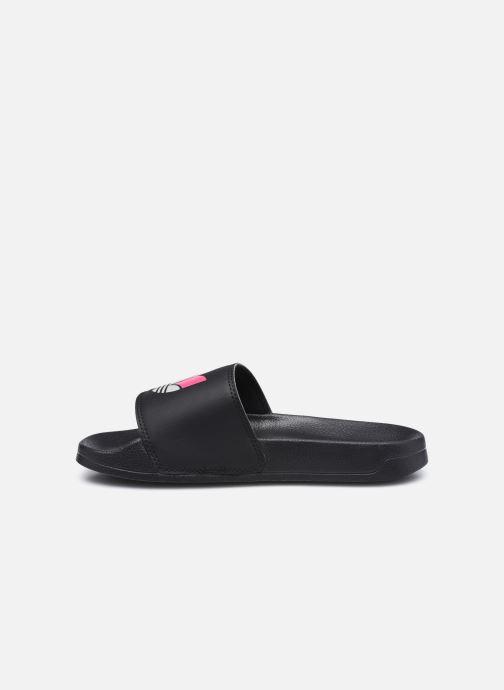 Clogs & Pantoletten adidas originals Adilette Lite W schwarz ansicht von vorne