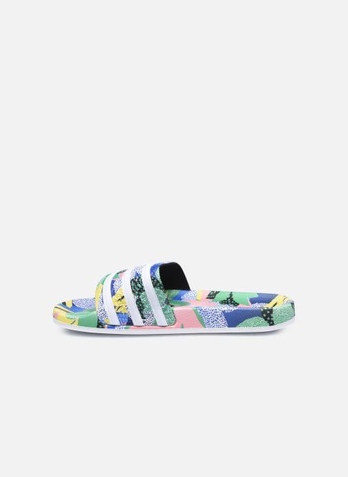Zoccoli adidas originals Adilette Lite W Multicolore immagine frontale