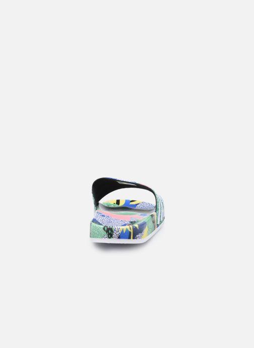 Zoccoli adidas originals Adilette Lite W Multicolore immagine destra
