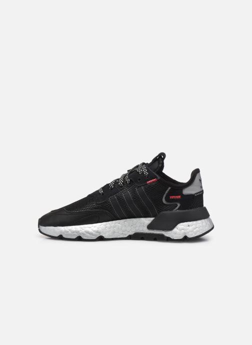 Sneaker adidas originals Nite Jogger W schwarz ansicht von vorne
