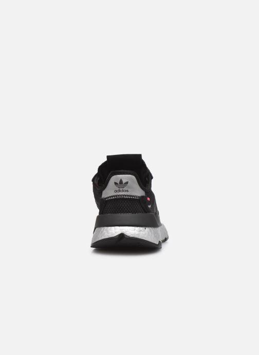 Sneaker adidas originals Nite Jogger W schwarz ansicht von rechts