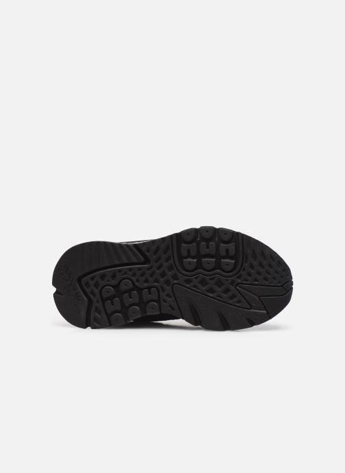 Sneaker adidas originals Nite Jogger W schwarz ansicht von oben