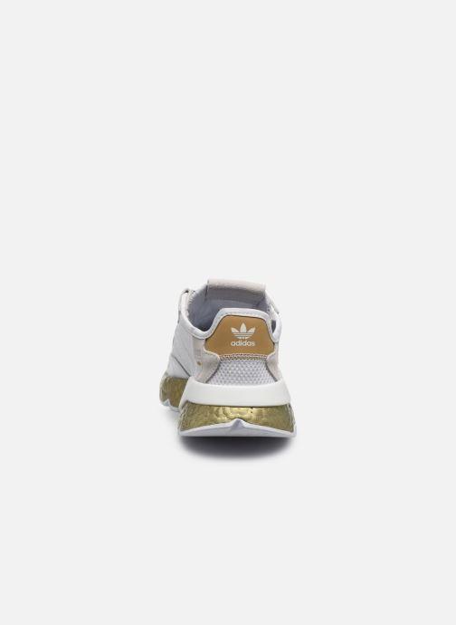 Deportivas adidas originals Nite Jogger W Blanco vista lateral derecha