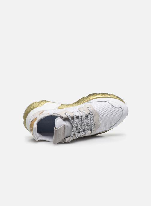 Deportivas adidas originals Nite Jogger W Blanco vista lateral izquierda