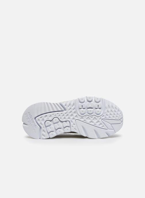Sneakers adidas originals Nite Jogger W Bianco immagine dall'alto