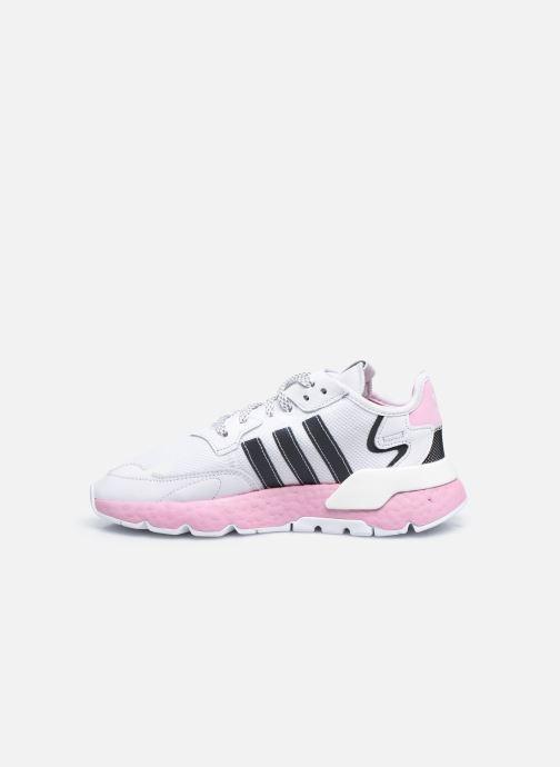 adidas originals Nite Jogger W (Wit) Sneakers chez Sarenza