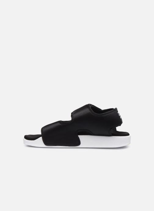 adidas Adilette, Sandali Aperti Donna, Nero Core BlackFtwr