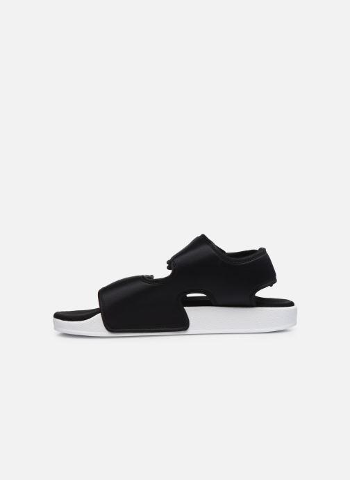 Sandales et nu-pieds adidas originals Adilette Sandal 3.0 W Noir vue face