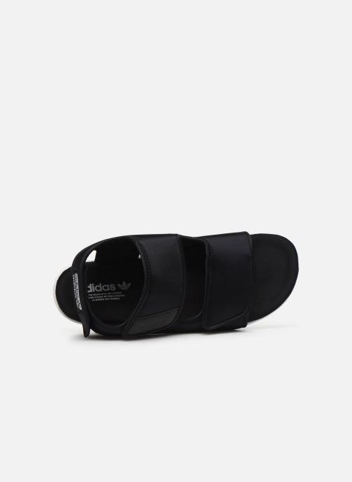 Sandalias adidas originals Adilette Sandal 3.0 W Negro vista lateral izquierda