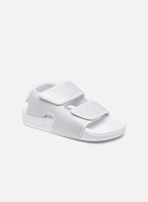 Sandalias adidas originals Adilette Sandal 3.0 W Blanco vista de detalle / par