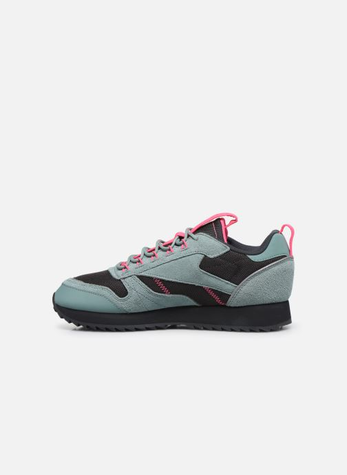 Zapatillas de deporte Reebok Cl Leather Ripple Trail W Gris vista de frente