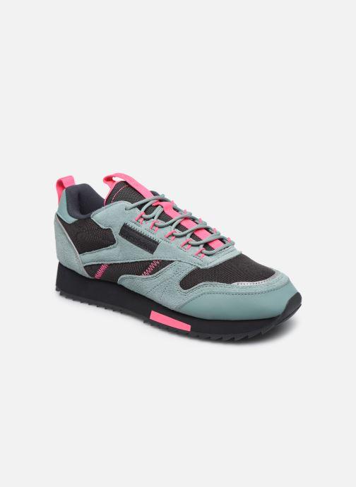 Chaussures de sport Reebok Cl Leather Ripple Trail W Gris vue détail/paire