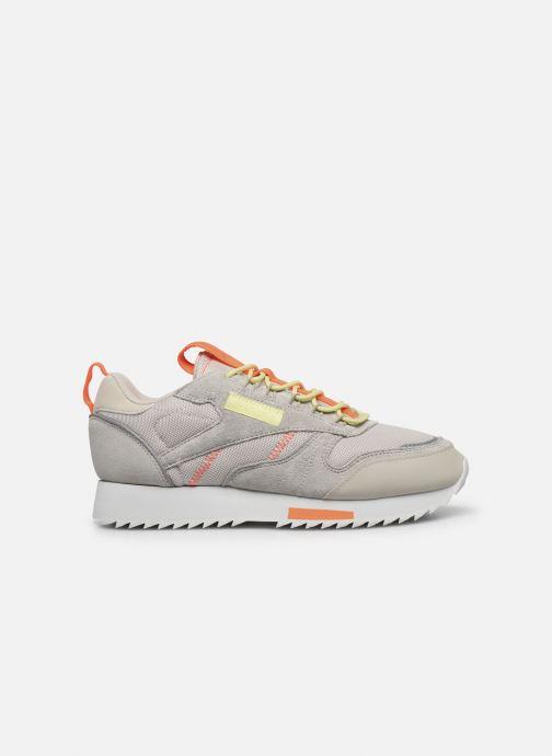 Chaussures de sport Reebok Cl Leather Ripple Trail W Beige vue derrière