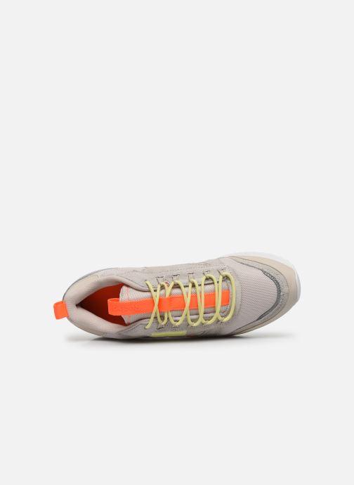 Zapatillas de deporte Reebok Cl Leather Ripple Trail W Beige vista lateral izquierda