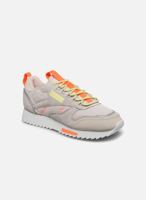Chaussures de sport Reebok Cl Leather Ripple Trail W Beige vue détail/paire