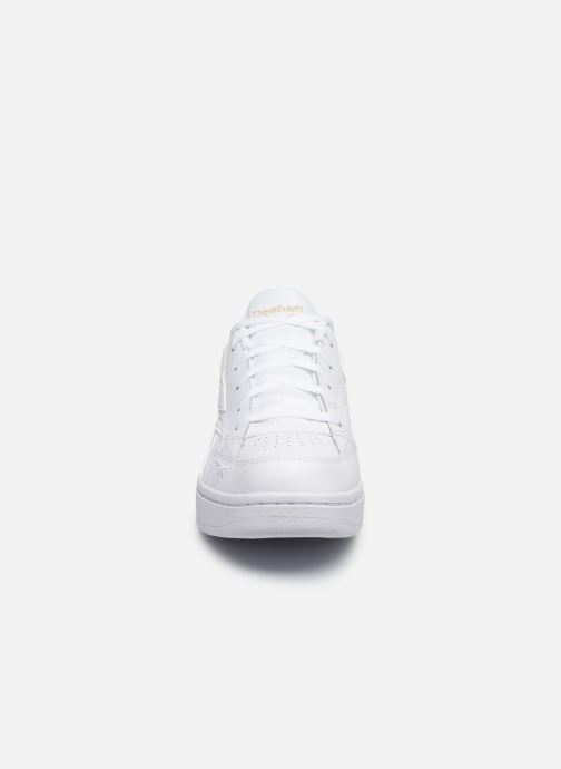 Deportivas Reebok Court Double Mix Blanco vista del modelo