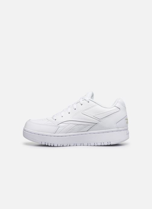 Deportivas Reebok Court Double Mix Blanco vista de frente