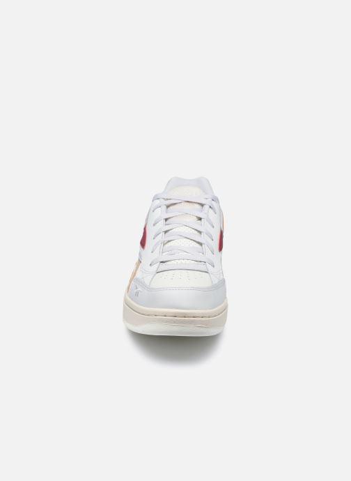 Sneaker Reebok Court Double Mix weiß schuhe getragen