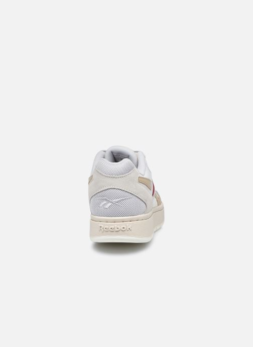 Sneaker Reebok Court Double Mix weiß ansicht von rechts