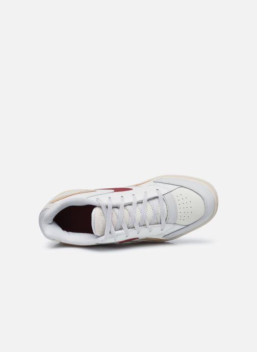 Baskets Reebok Court Double Mix Blanc vue gauche