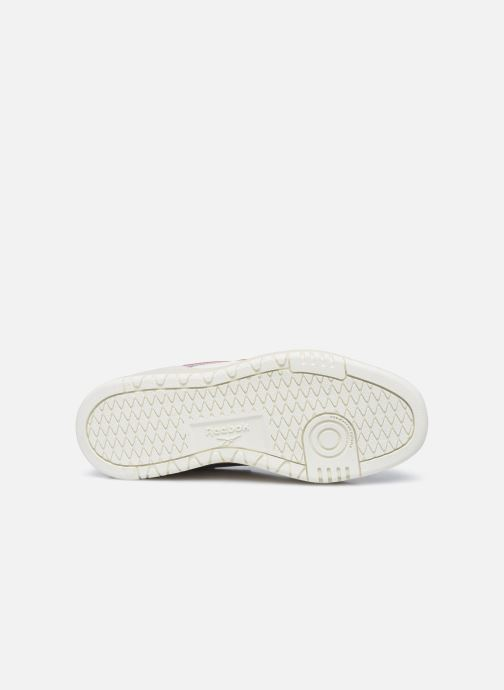 Sneaker Reebok Court Double Mix weiß ansicht von oben