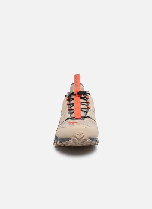 Baskets Reebok Dmxpert Beige vue portées chaussures